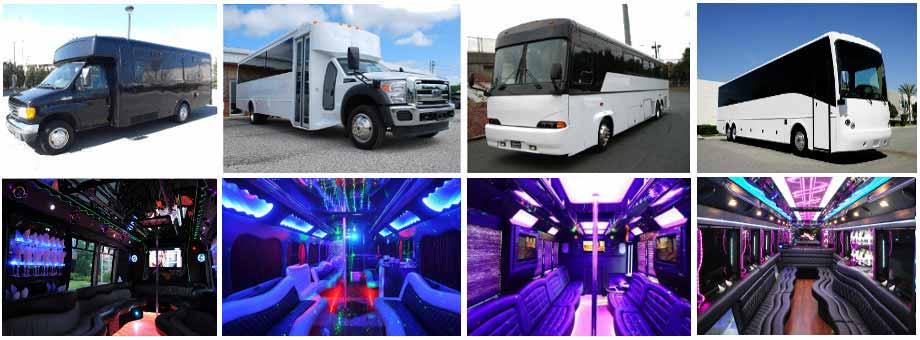 Baltimore Bachelor Party buses