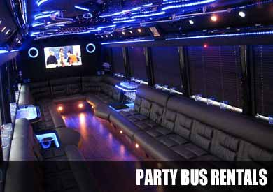 Wedding Party Bus in Baltimore