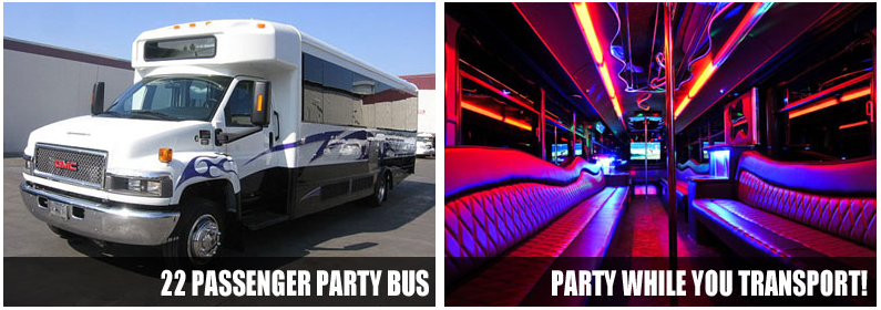 Wedding party bus rentals baltimore