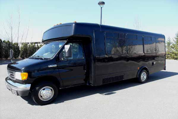 18 passenger party bus Edgemere