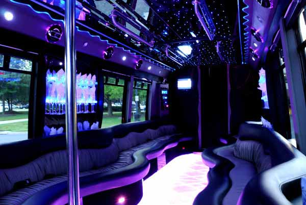22 people party bus Clarkesville
