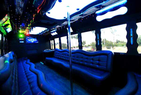 40 people party bus Clarkesville