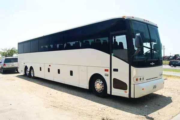 50 passenger charter bus Clarkesville