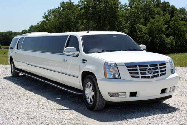 Cadillac Escalade limo White Hall
