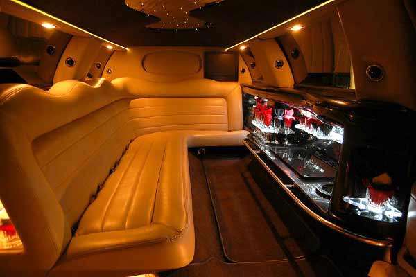 Lincoln stretch limo party rental Rosedale