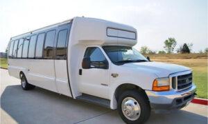 20 passenger shuttle bus rental Carney