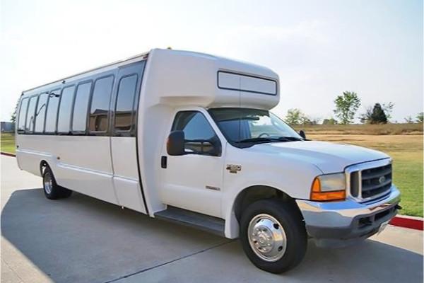 20 passenger shuttle bus rental Clarksville
