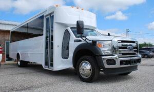 30 passenger bus rental Clarksville