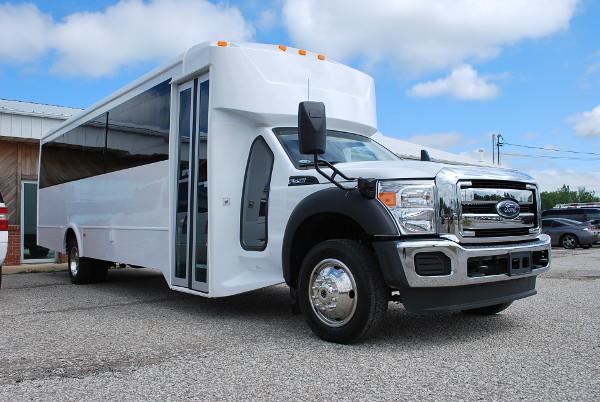 30 passenger bus rental Pikesville