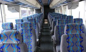 30 person shuttle bus rental Lochearn