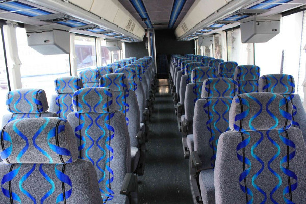 30 person shuttle bus rental West Friendship