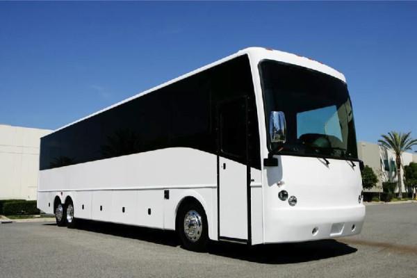 40 passenger charter bus rental Carney