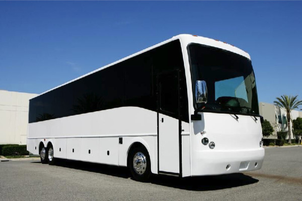 40 passenger charter bus rental West Friendship