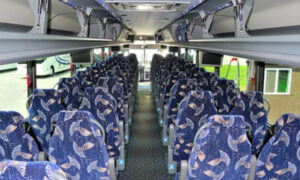 40 person charter bus Carney