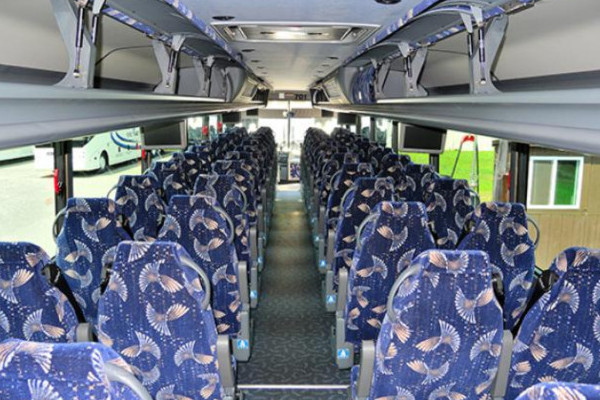 40 person charter bus Edgemere