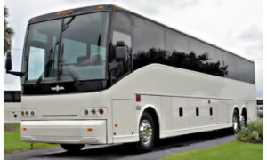 50 passenger charter bus Carney
