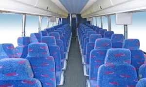 50 person charter bus rental Lochearn
